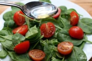 Салат со шпинатом и помидорами черри - фото шаг 4