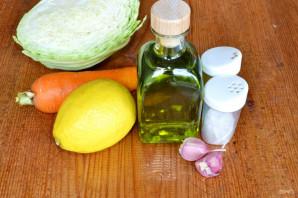 Заправка для салата из капусты с морковью - фото шаг 1