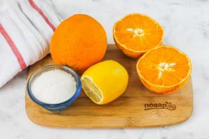 Компот из апельсина и лимона - фото шаг 1