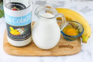 Молочный коктейль с ликером - фото шаг 1