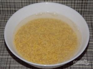 Пшенно-рисовая каша на молоке - фото шаг 2