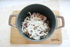 Свинина в сметанно-томатном соусе - фото шаг 4