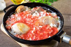 Курица с рисом в томатном соусе - фото шаг 7