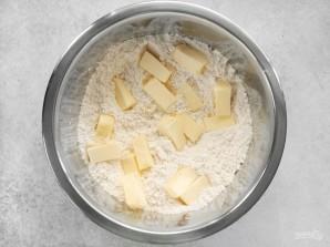 Галета с черникой и сливочным сыром - фото шаг 1