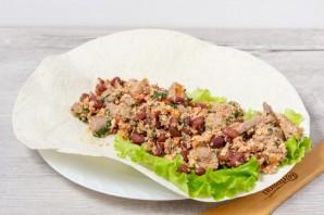 Буррито из индейки на завтрак - фото шаг 7