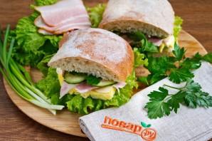 Бутерброд из чиабатты - фото шаг 6