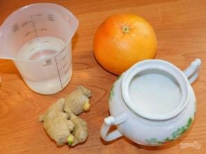 Напиток из грейпфрута с имбирем - фото шаг 1