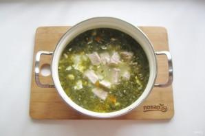Щавелевый суп с мясом и яйцом - фото шаг 11