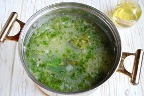Суп со шпинатом и белой фасолью - фото шаг 7