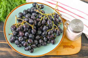 Моченый виноград на зиму - фото шаг 7