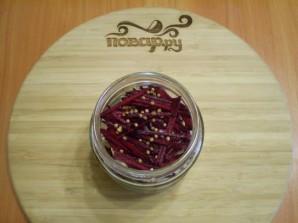 Маринованная цветная капуста со свеклой - фото шаг 5
