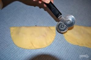 Чебуреки домашние с мясом - фото шаг 8