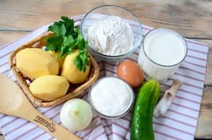 Картофельные вафли - фото шаг 1