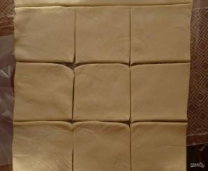Слоеное тесто бездрожжевое на сковороде - фото шаг 4