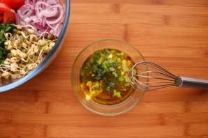 Салат с пророщенным машем - фото шаг 6