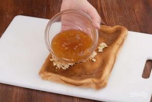 Бисквитное пирожное с белковым кремом - фото шаг 5