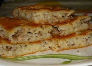 Пирог с рисом и рыбой - фото шаг 4