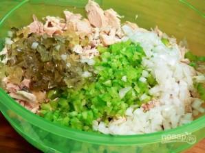 Салат из куриной грудки и сельдерея - фото шаг 4
