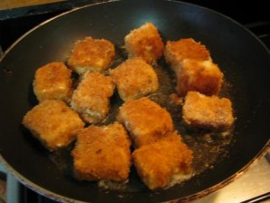 Жареный сыр бри в панировке - фото шаг 9