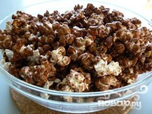 Попкорн с шоколадом и карамелью - фото шаг 3