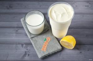 Крем-сыр из сметаны и молока - фото шаг 1