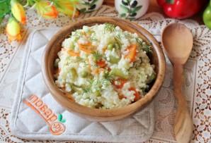 Пшенная каша с овощами - фото шаг 9