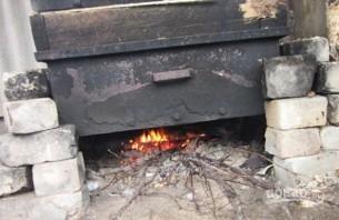 Карась горячего копчения - фото шаг 4