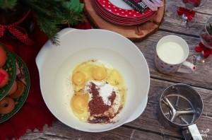 Блинный торт со сливочным кремом - фото шаг 1