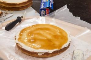 Белый шоколадный торт - фото шаг 8