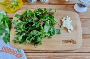 "Салат ""Витамины и белок"" - фото шаг 3"
