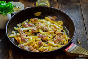 Мясо по-балкански - фото шаг 4