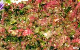 Хинкали со свининой - фото шаг 2