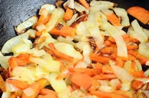 Грибная солянка с рисом и капустой - фото шаг 8