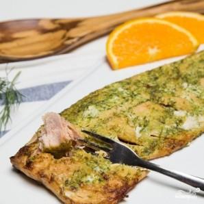 Филе лосося запеченное с зеленью - фото шаг 4