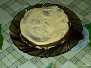 Печеночный пирог слоями - фото шаг 14