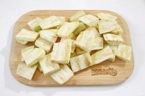 Баклажаны с мясом и овощами - фото шаг 2