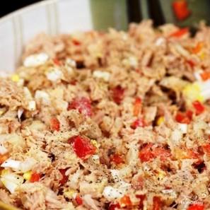 Сэндвичи с салатом из тунца - фото шаг 7