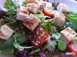 Салат с тофу - фото шаг 5