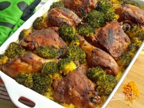 Рис с овощами и куриными ножками - фото шаг 5