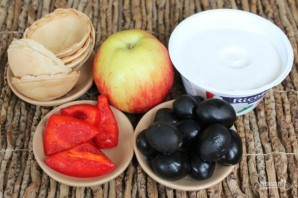 Закуска с рикоттой и оливками - фото шаг 1