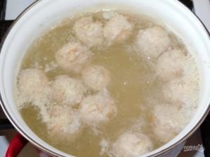 Суп с грибными фрикадельками - фото шаг 4