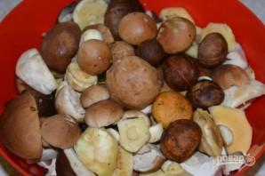 Соленые белые грибы - фото шаг 1