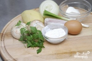 Картофельная колбаса - фото шаг 1