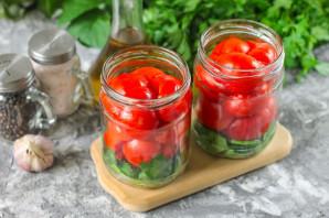 Резанные помидоры с маслом на зиму - фото шаг 3