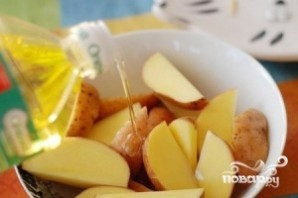 Картофель с зеленью - фото шаг 2