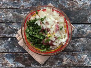 Люля кебаб на сковороде без шпажек - фото шаг 4