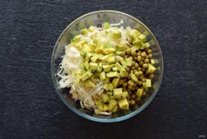Винегрет с авокадо - фото шаг 5