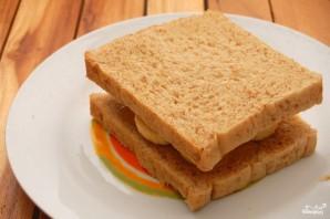 Бутерброд с арахисовым маслом - фото шаг 4