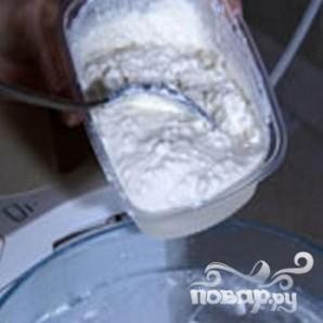 Творожный пирог с черешней - фото шаг 1