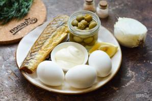 Яйца фаршированные копченой рыбой